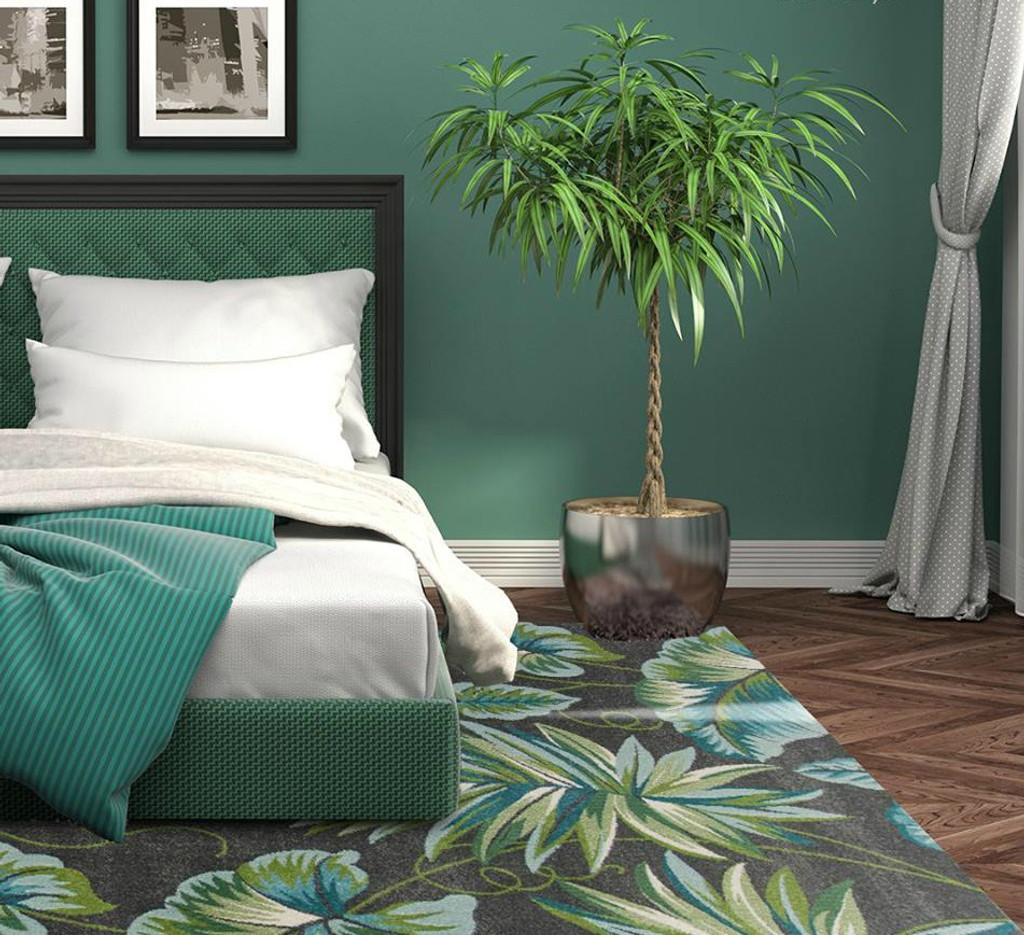 Grey Paradise Plush Rug room image