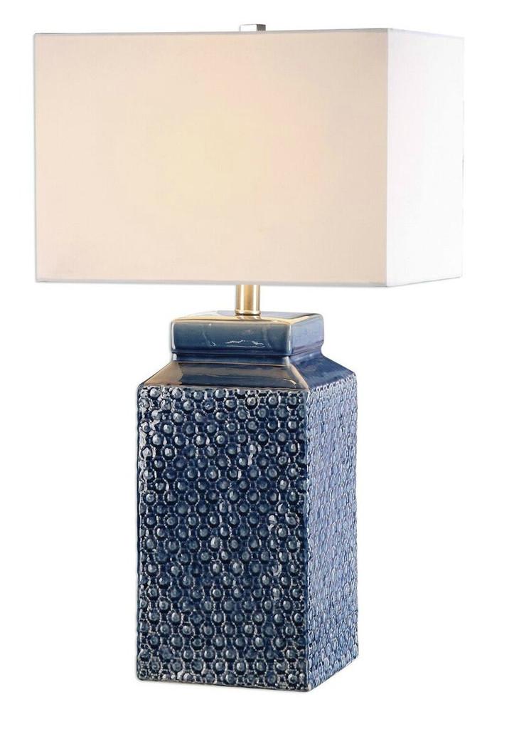 Sapphire Blue Lamp