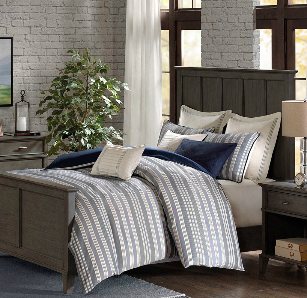 Coastal Farmhouse Comforter King Size