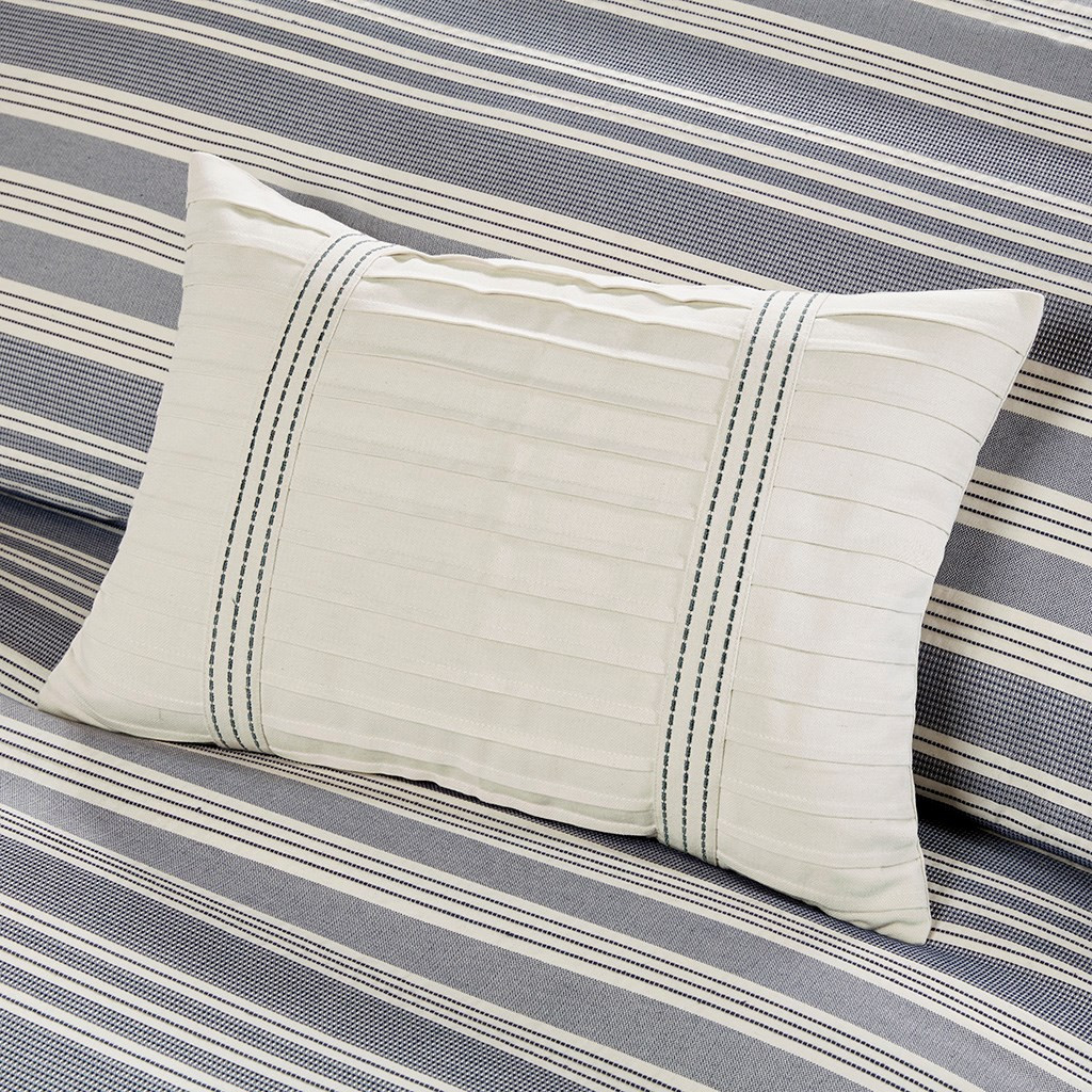 Coastal Farmhouse Comforter King Size decorative pillows
