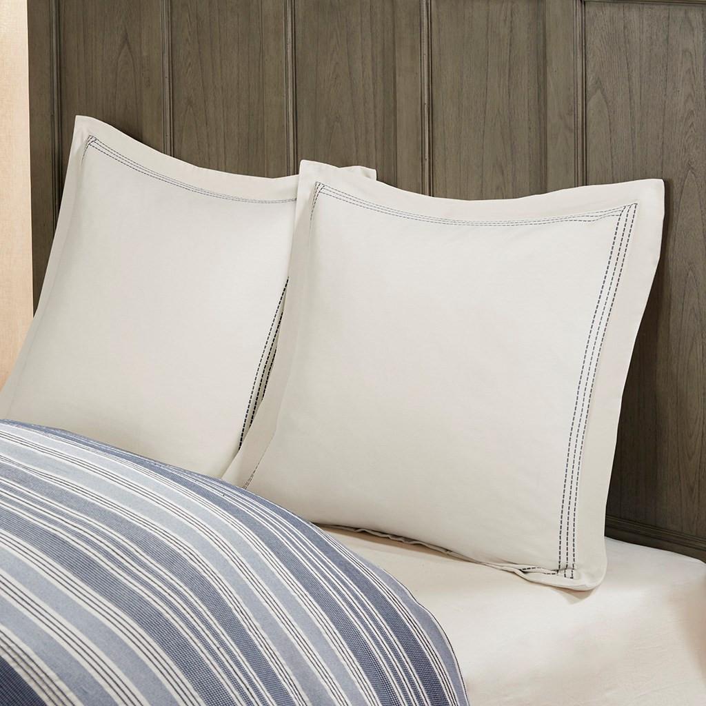 Coastal Farmhouse Comforter Queen Size Euro Shams