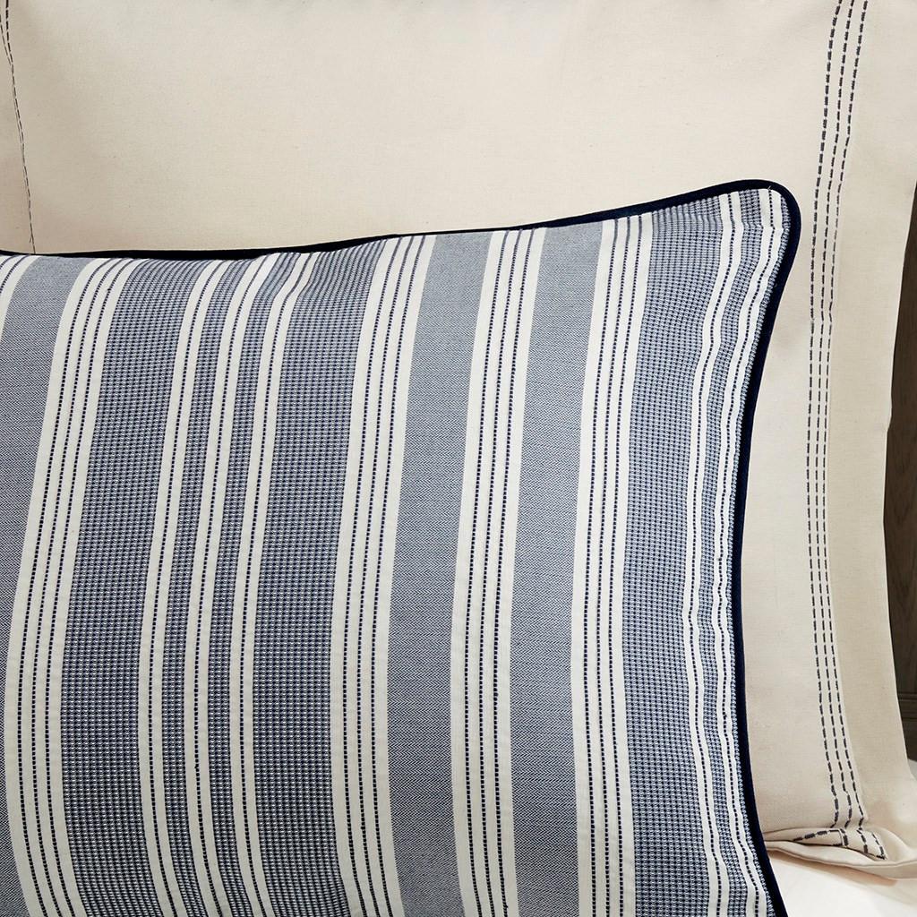 Coastal Farmhouse Comforter Queen Size shams