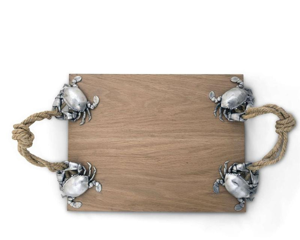 Crab and Rope Handled Cheese Board