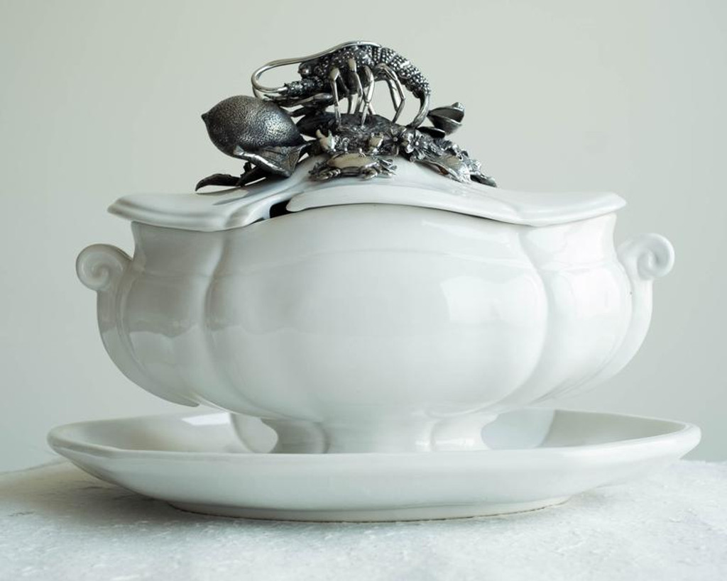 Lobster Soup Tureen
