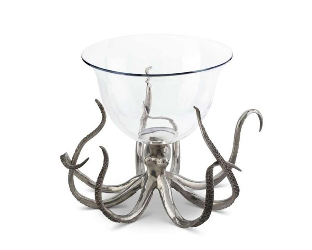 Octopus Glass Ice Tub