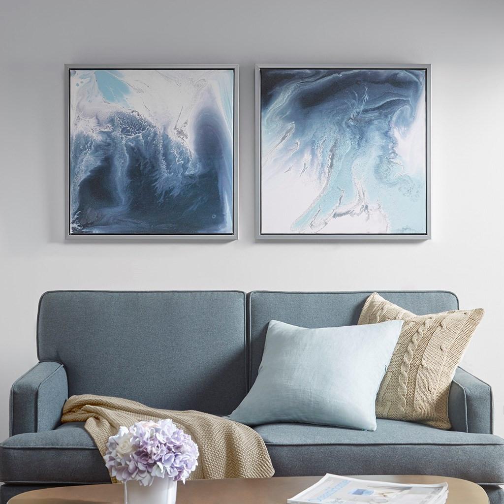 Blue Lagoon Art 2-Piece Set