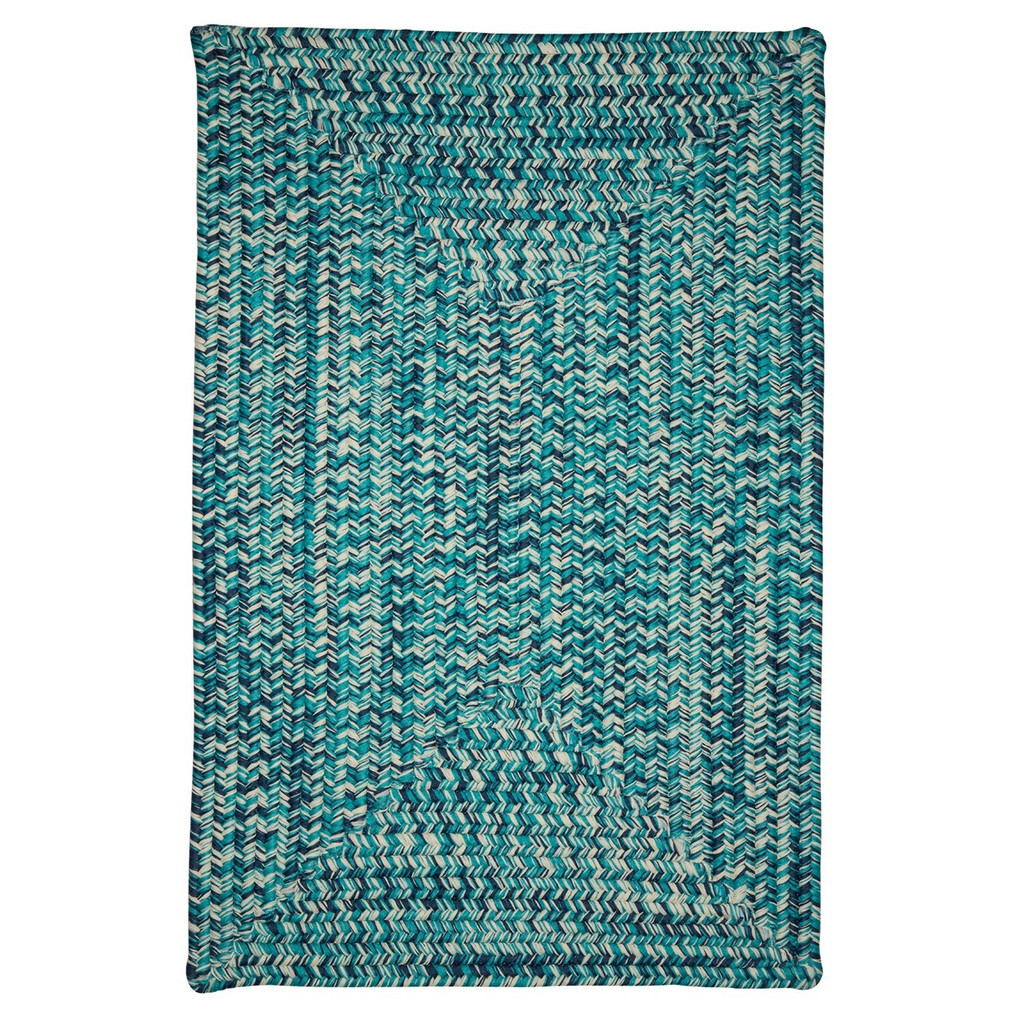 Catalina Blue Lagoon Braided Rug