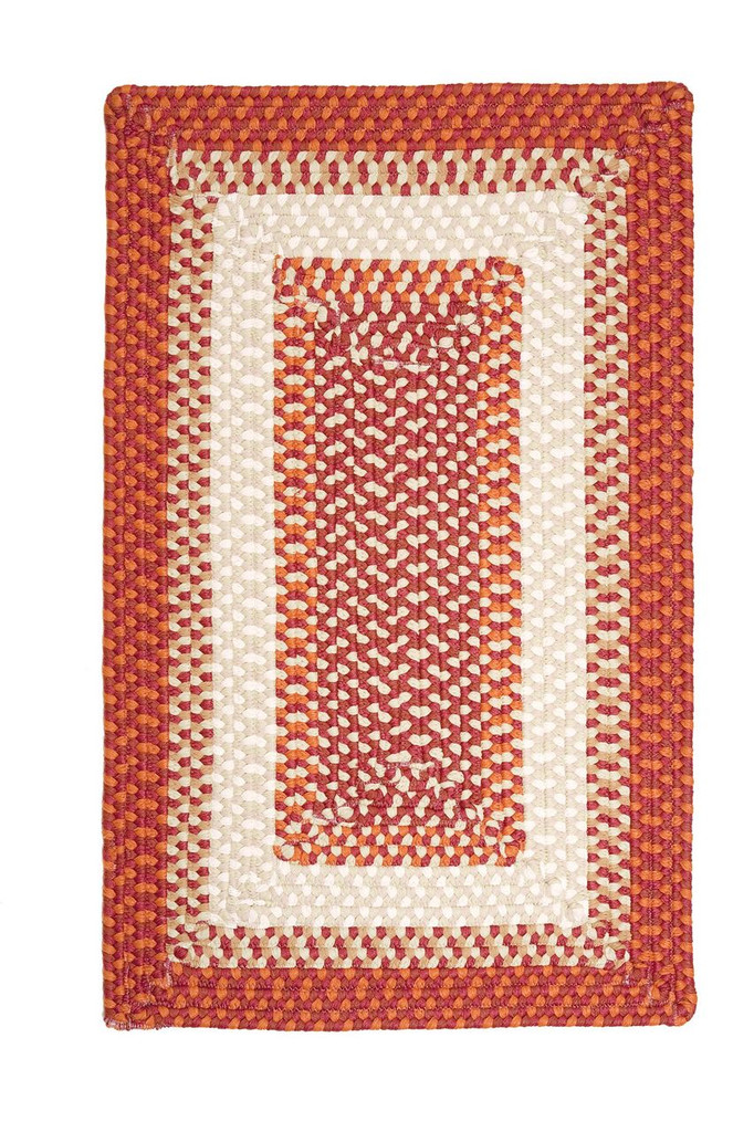 Montego Bonfire Twist Braided Area Rug