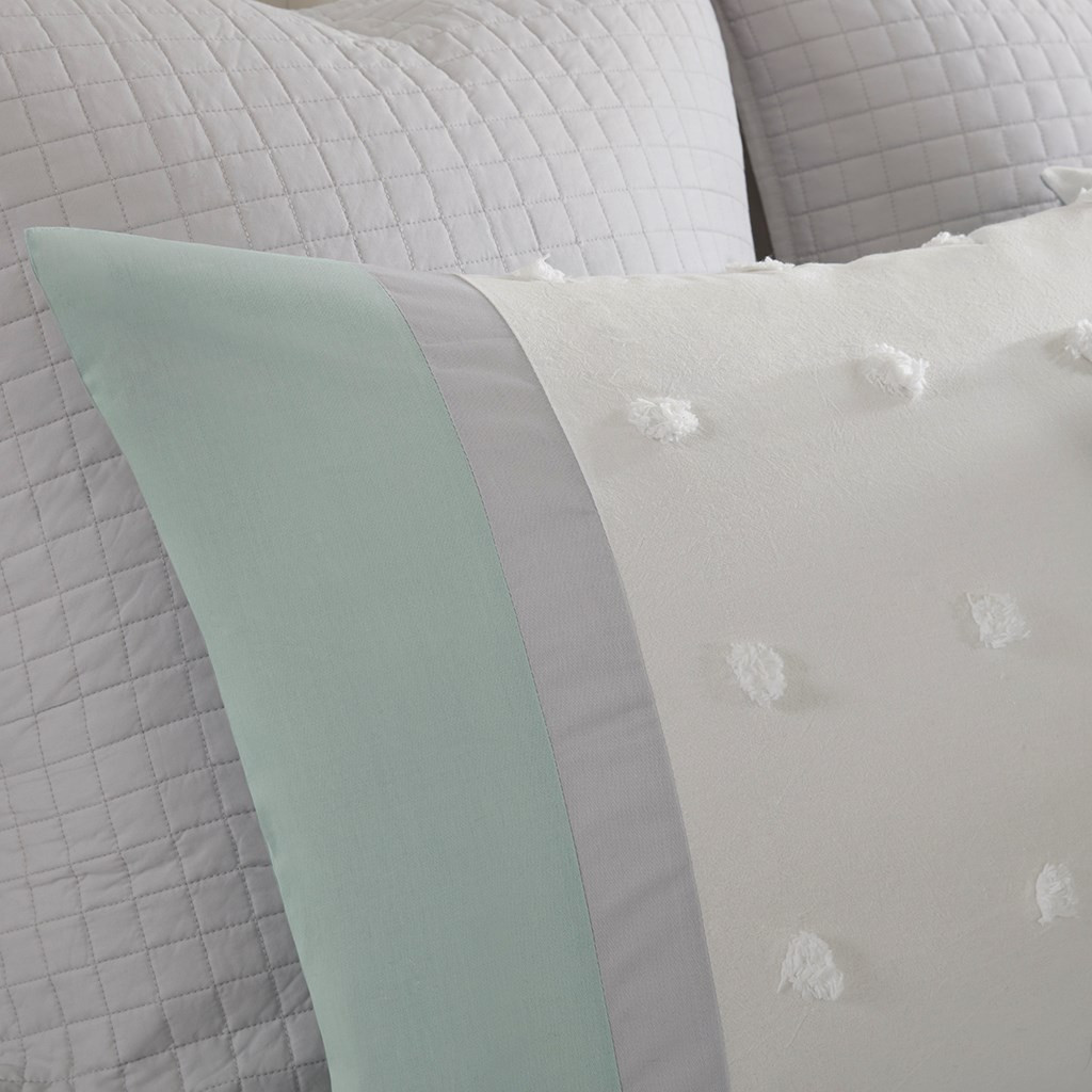 La Jolla Shores Comforter Set - King close up shams