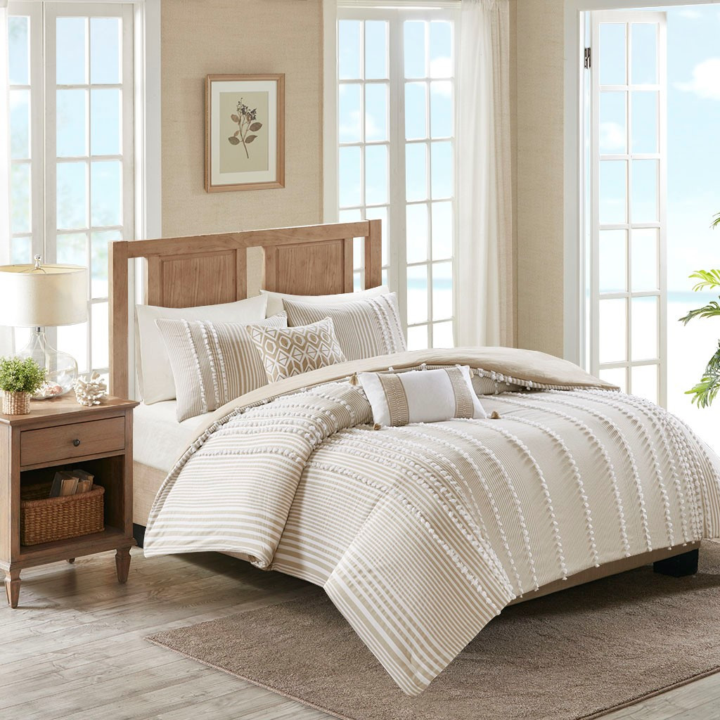 Saltwater and Dunes Comforter Set - King Size