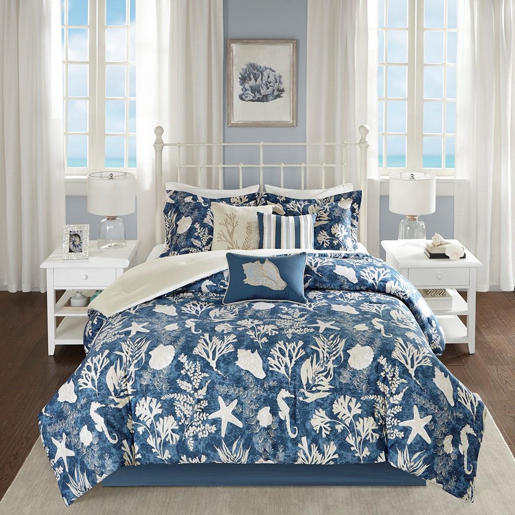Neptune 7-Piece Queen Size Comforter Set room image
