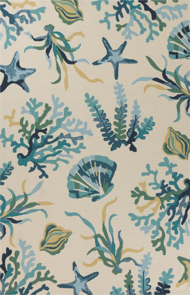 Harbor Blue Oceania Indoor-Outdoor Rug main image