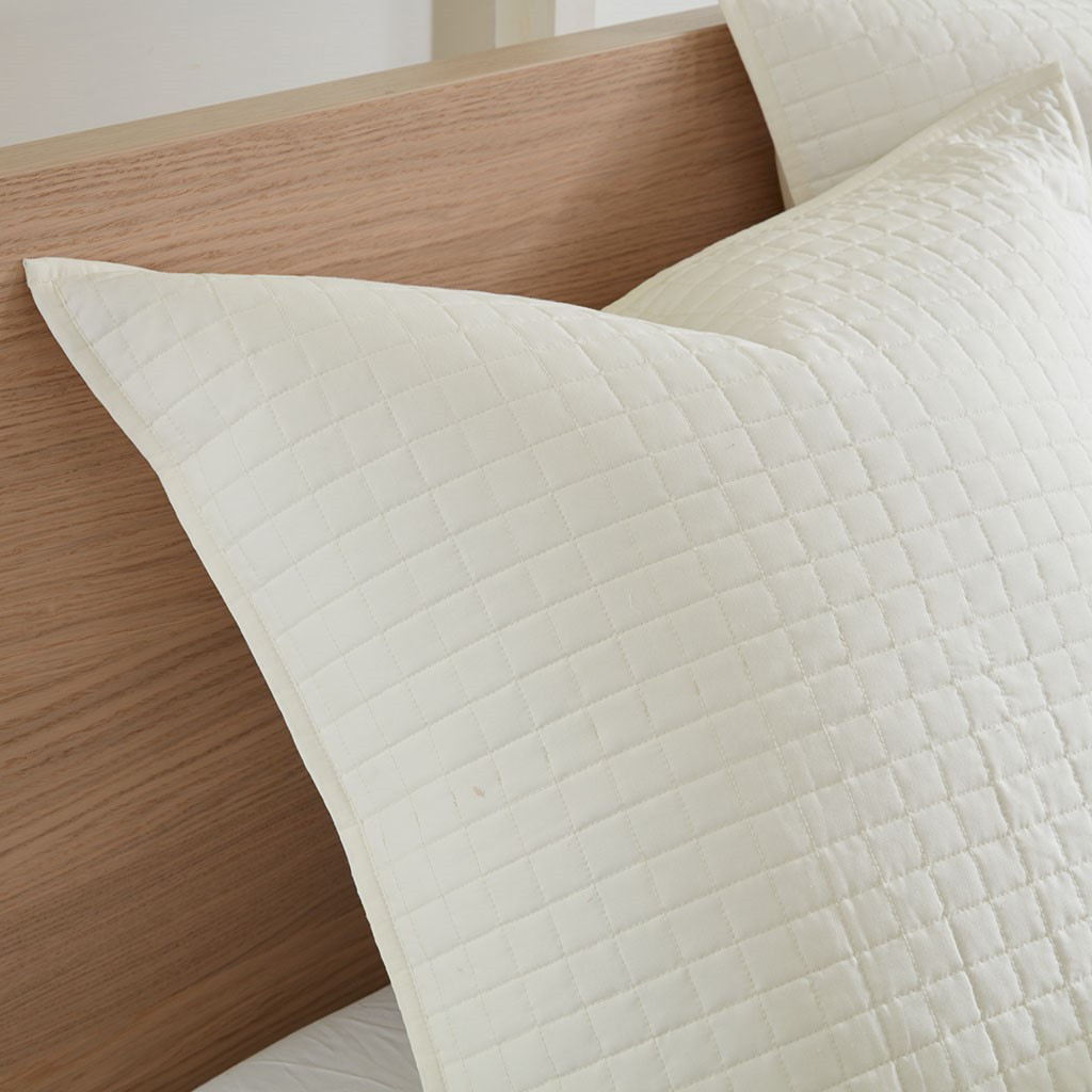 Rockaway Beach Ivory King Duvet Set
