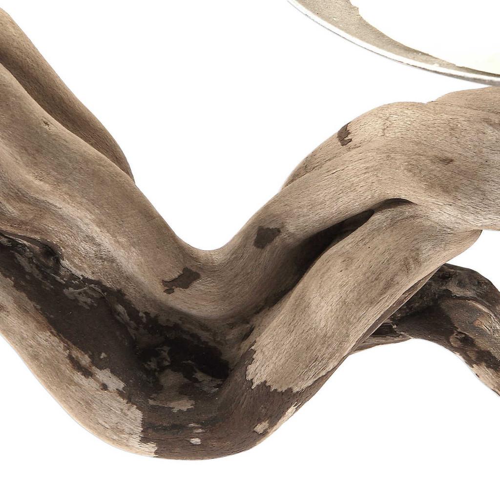 Ameera Driftwood Candleholder close up