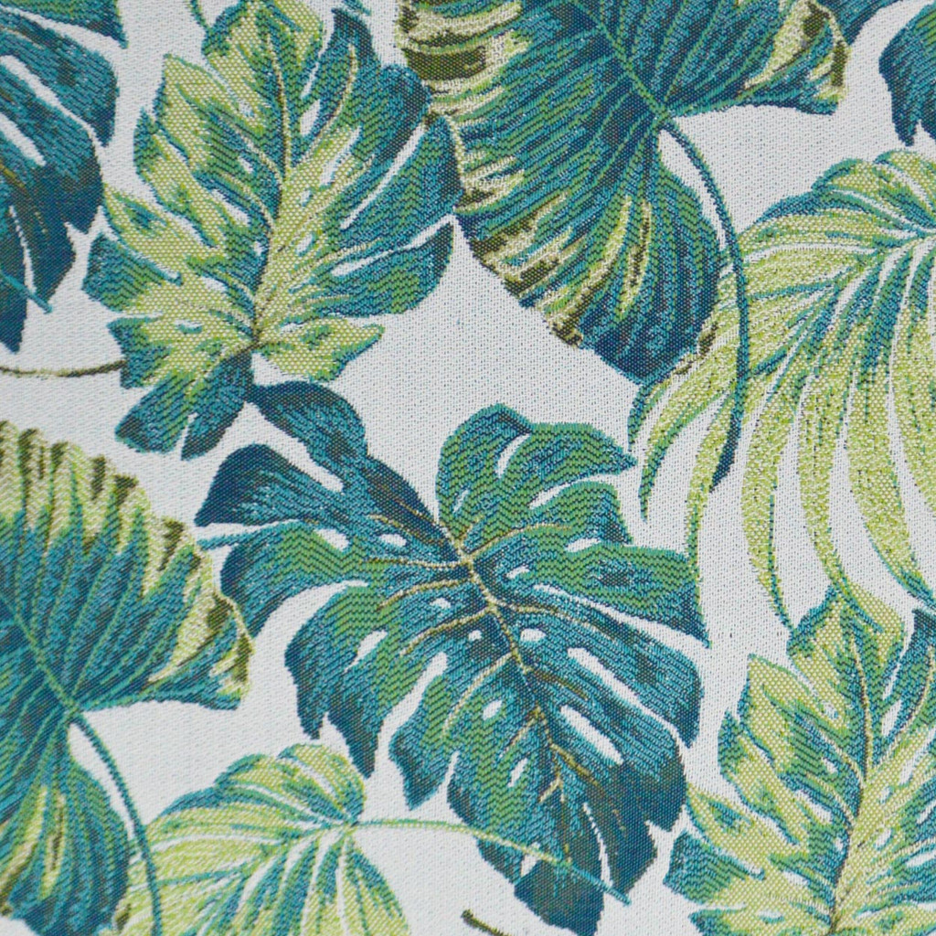 Sun Palms pillow fabric close up