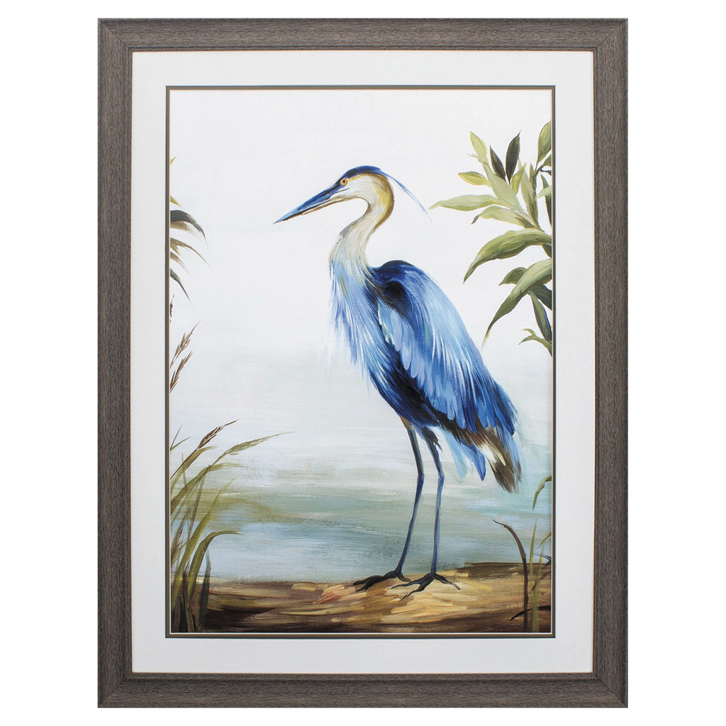 Shore Blue Heron