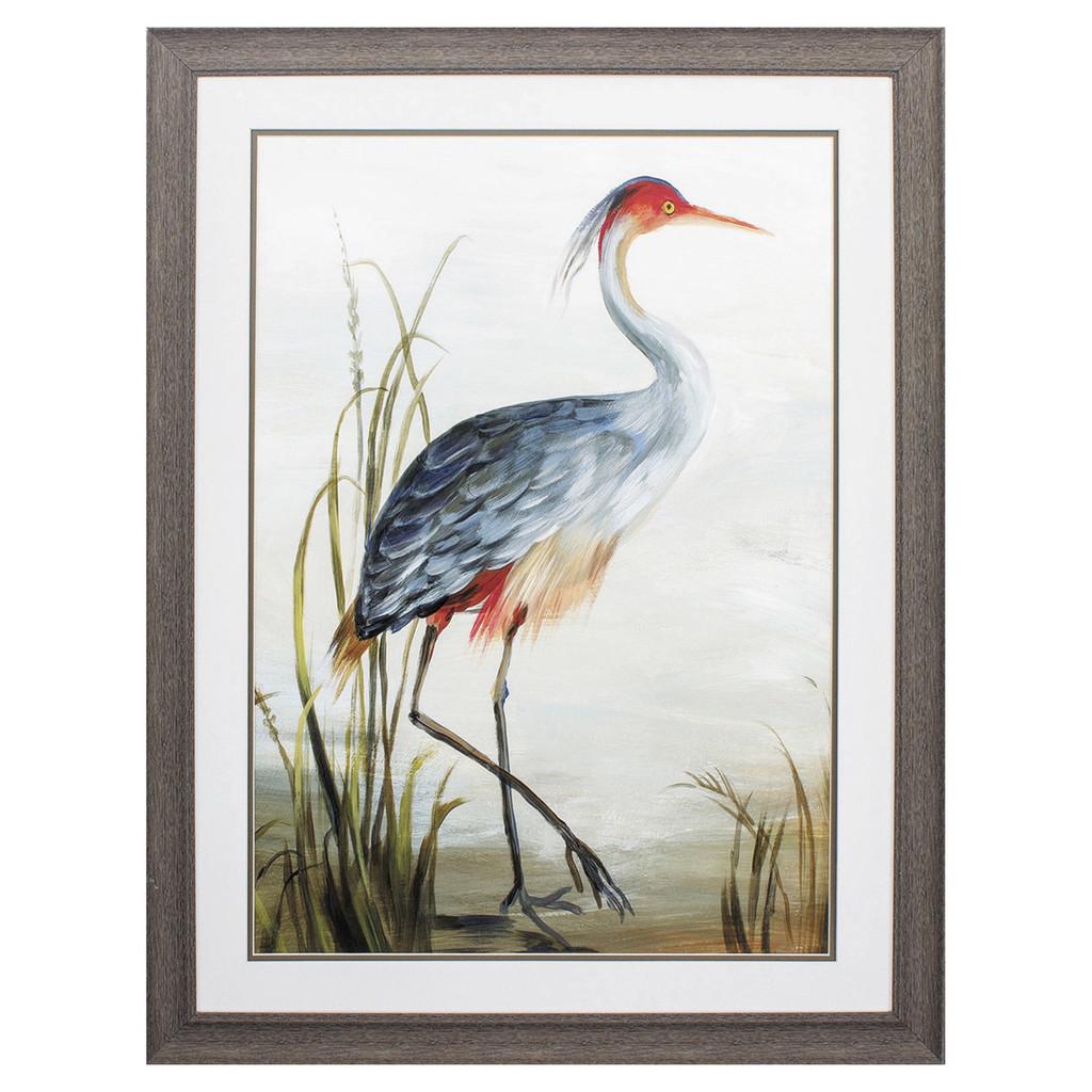 Shore Grey Heron