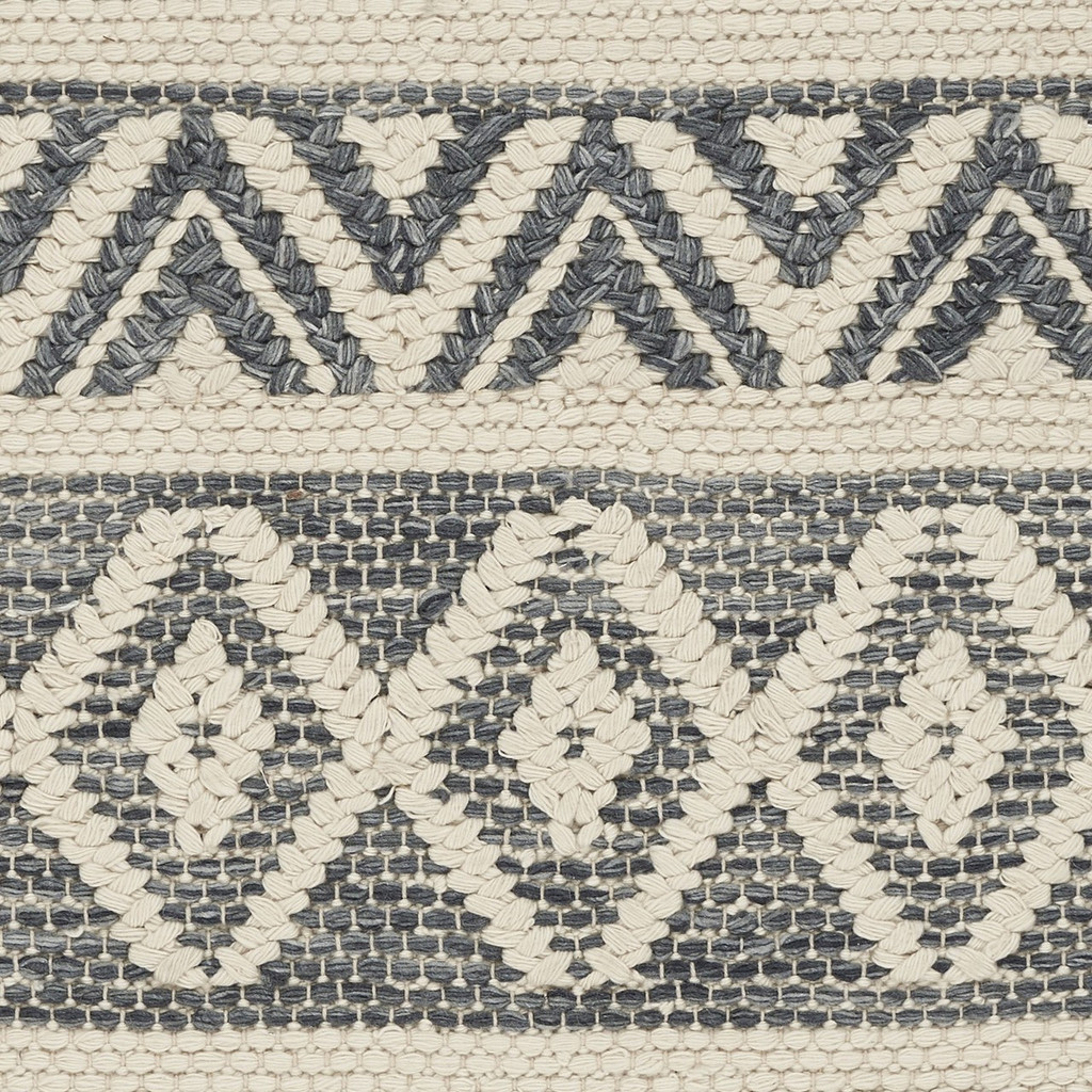 Hang Ten Encinitas Grey Rug close up 1