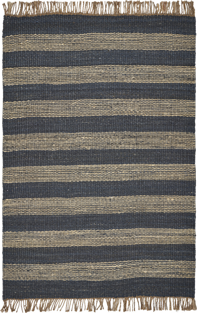 Hang Ten Navy Stripes Horizons Rug