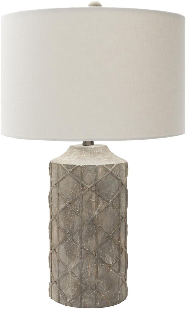 Oceanic Rustic Grey Table Lamp
