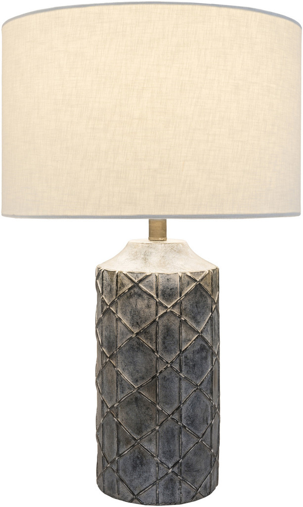 Oceanic Charcoal Table Lamp