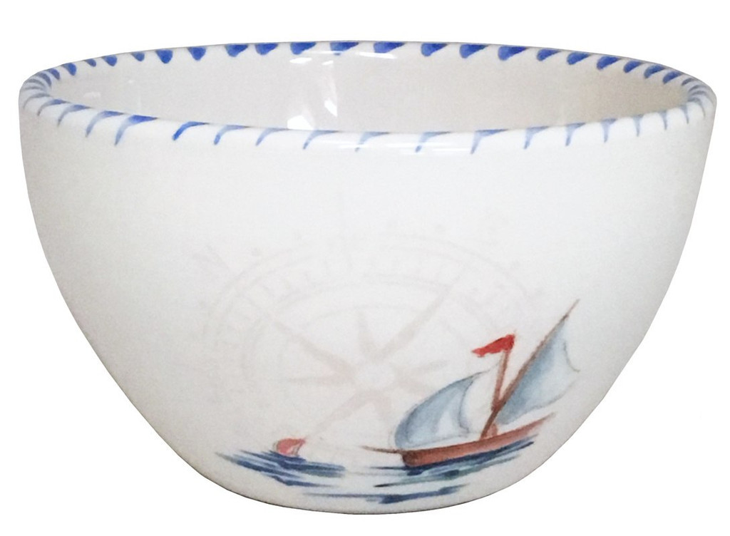 Sailboat Dessert Bowl
