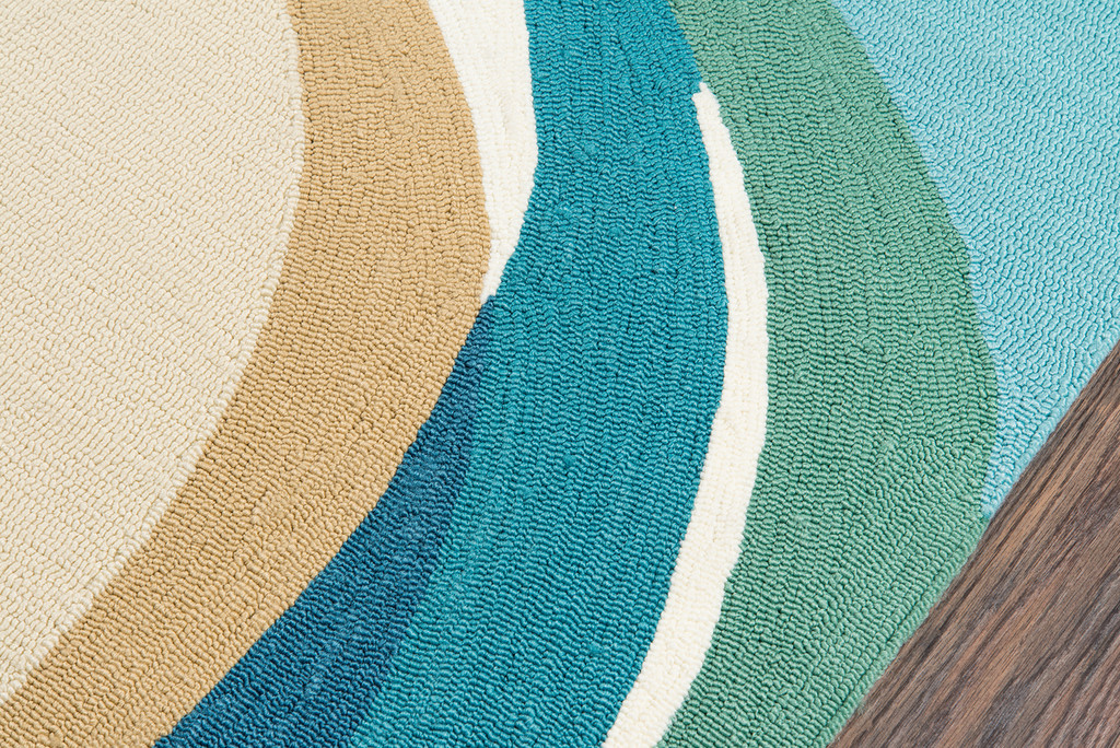 Beside the Shore Area Rug edge