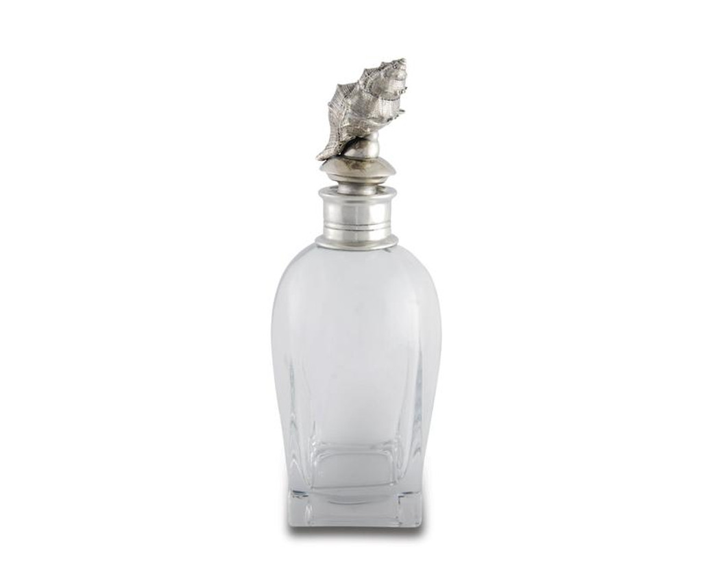 Short Conch Shell Liquor Decanter