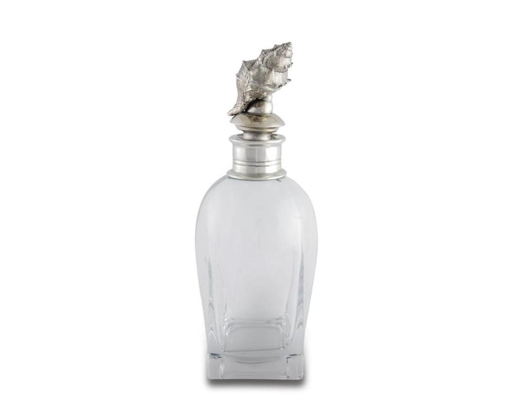 Short Conch Shell Liquor Decanter