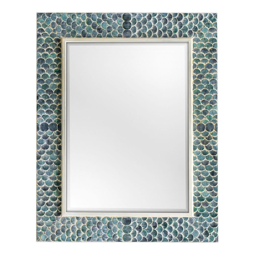 Tiburon Coastal Blue Mirror