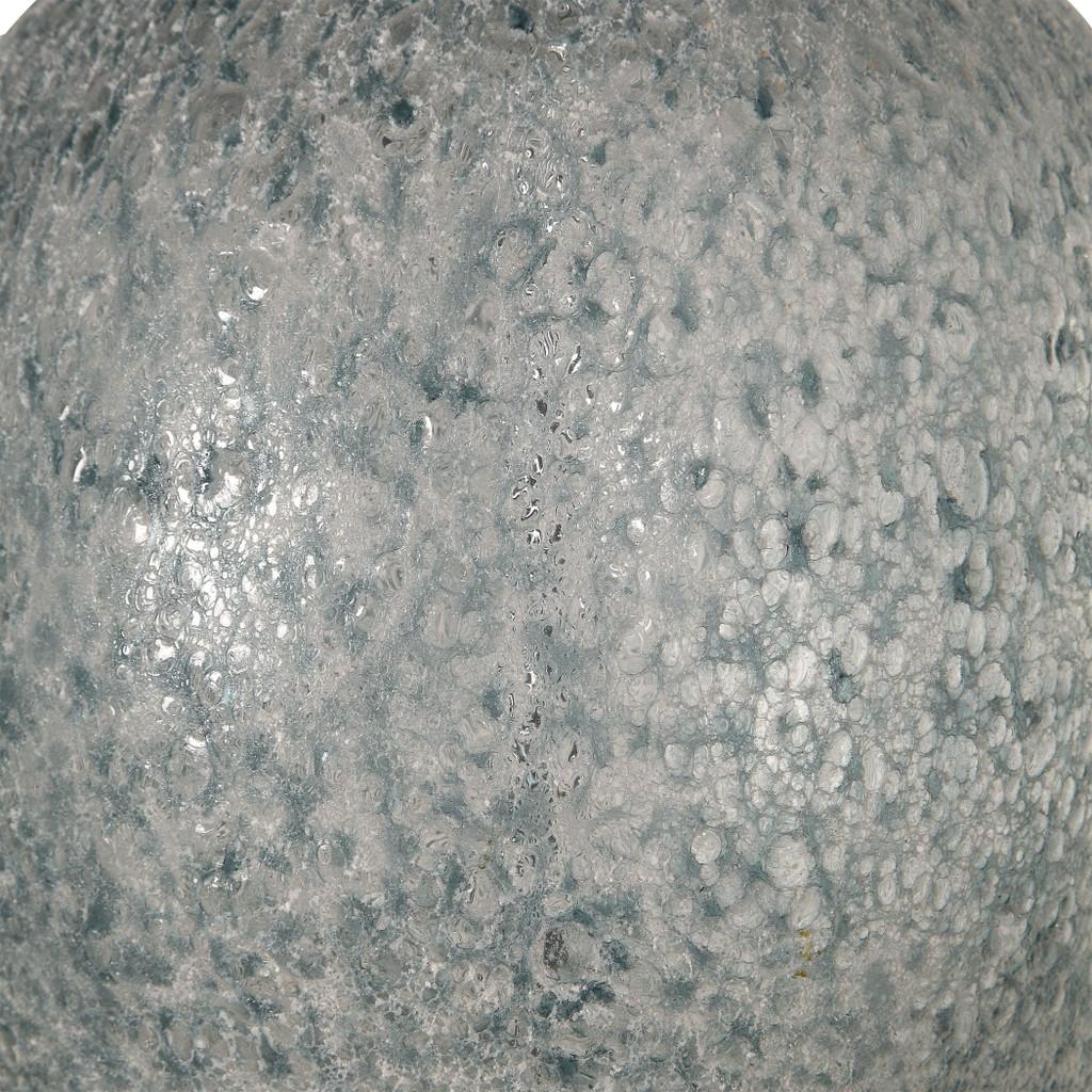 Oceana Glass Table Lamp  lamp base close up