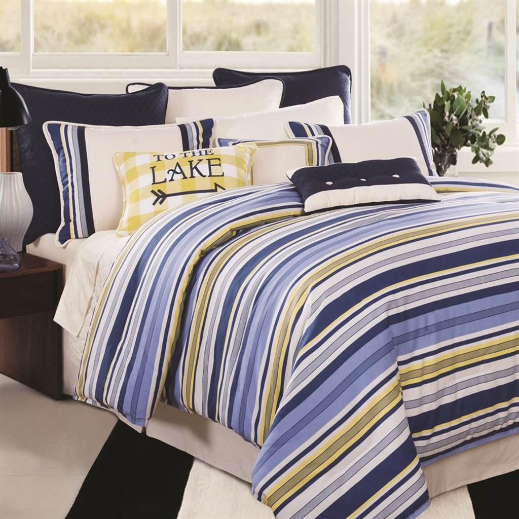 Raya Bedding Queen SetNote: shown with coordinating bedding accents