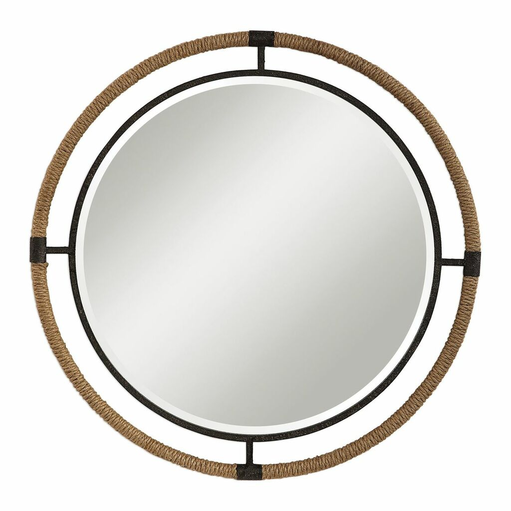 Melville Round Coastal Mirror