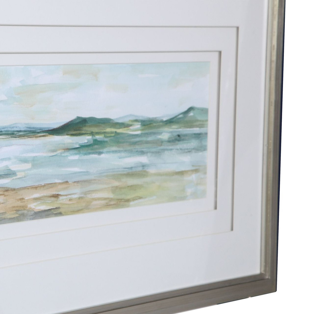 Panoramic Seascape Framed Print- Set of 2