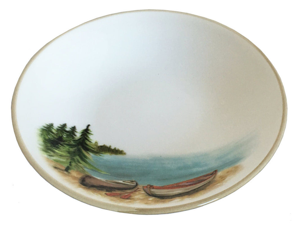 A Day at the Lake Pasta Bowls-Set of 6