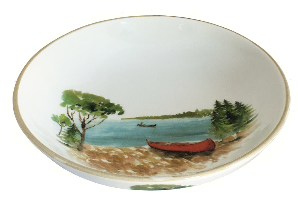 A Day at the Lake Serving Bowl-Large
