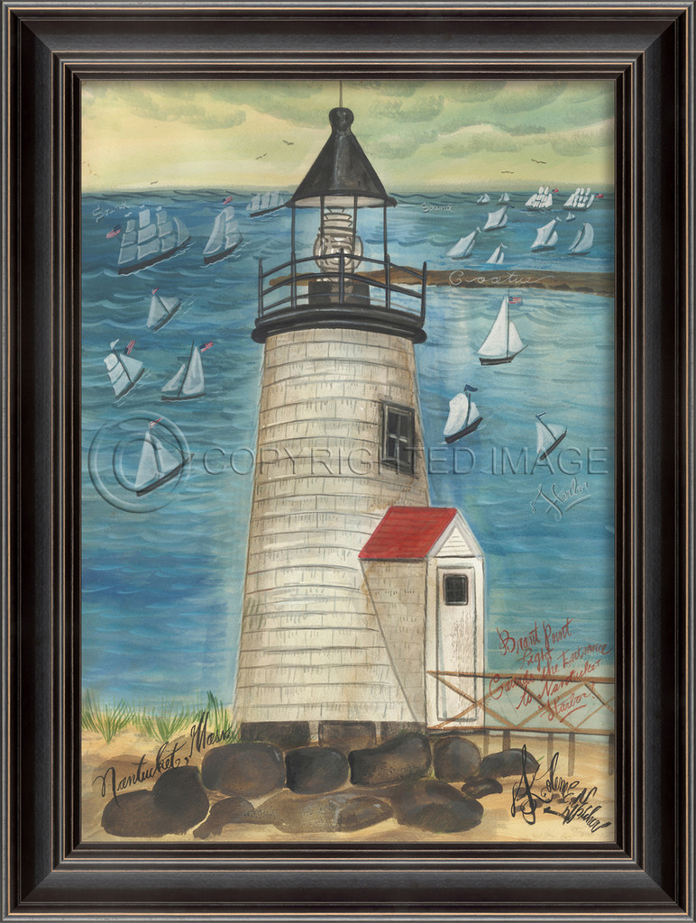 Brant Point Lighthouse Art