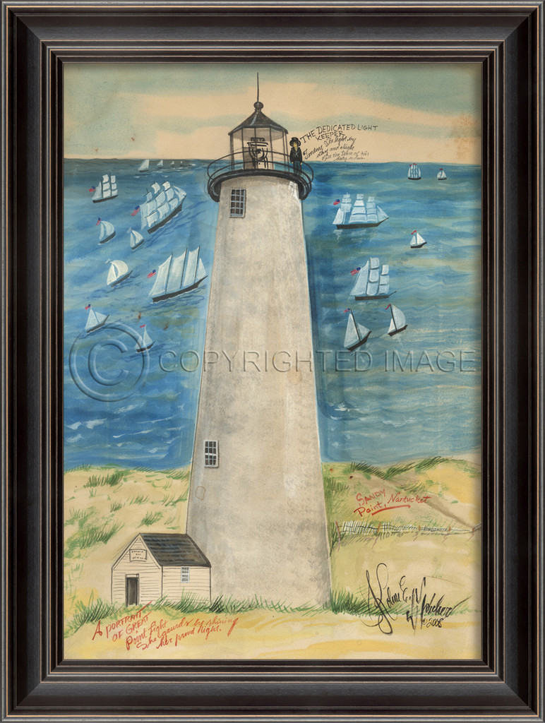 Great Point Lighthouse Art