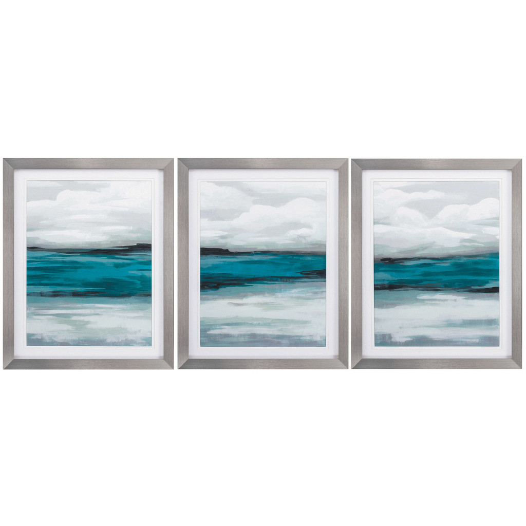 Storm Front Abstract Coastal Wall Art