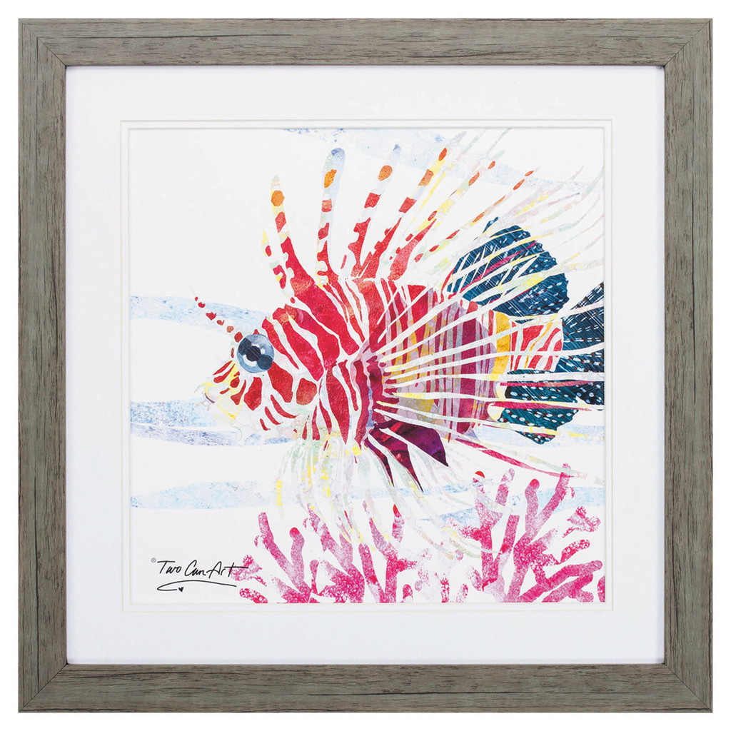 Sea Creature Tropical Fish Framed Art