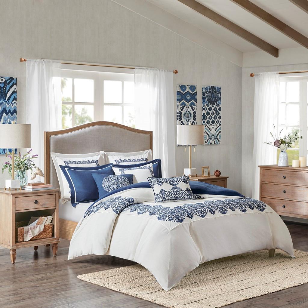Indigo Skye Oversized Queen Size Comforter Set room image 2
