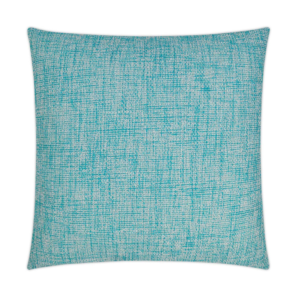 Double Trouble Turquoise Pillow