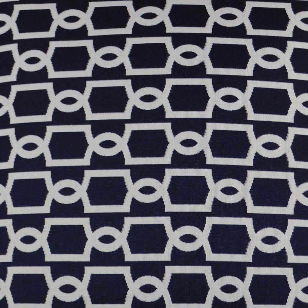 Navy Ocean Gate Lux Pillow