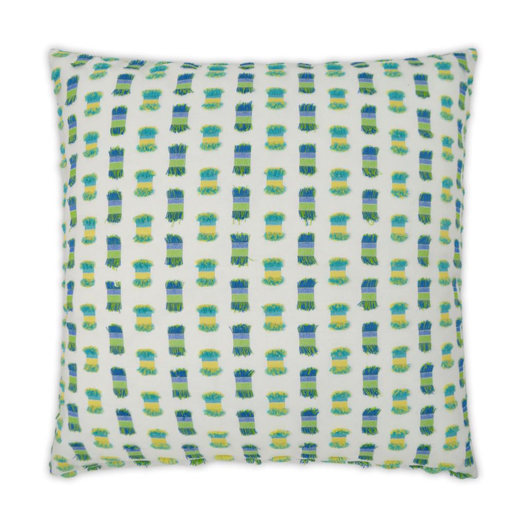 Fifi Green Indoor-Outdoor Pillow