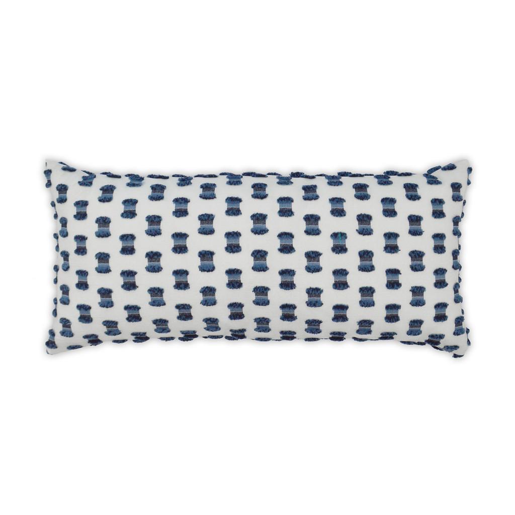 Fifi Indigo Lumbar Pillow