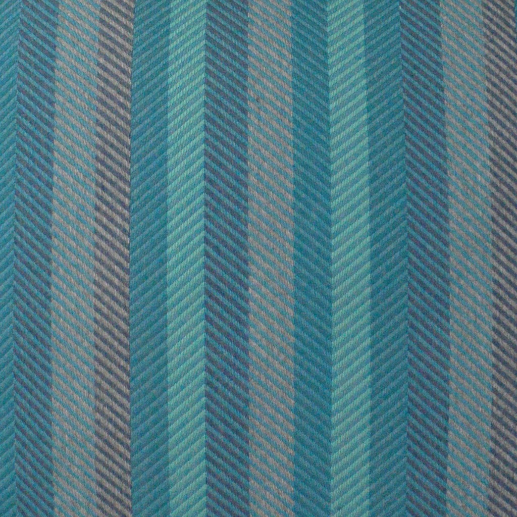 Latitude Peacock Lumbar Indoor-Outdoor Pillow fabric close up