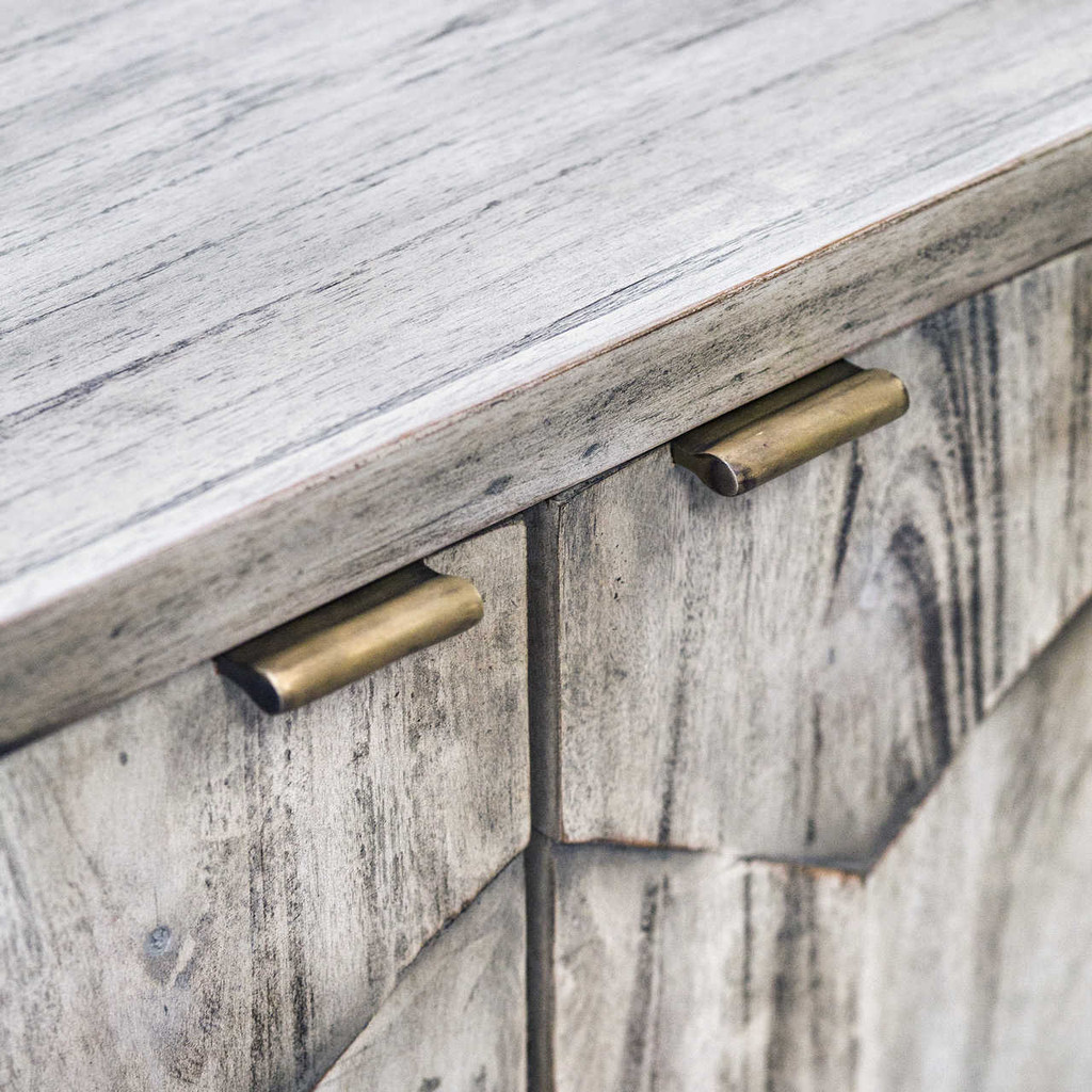 Smoked Ivory Honeycomb Cabinet pull images