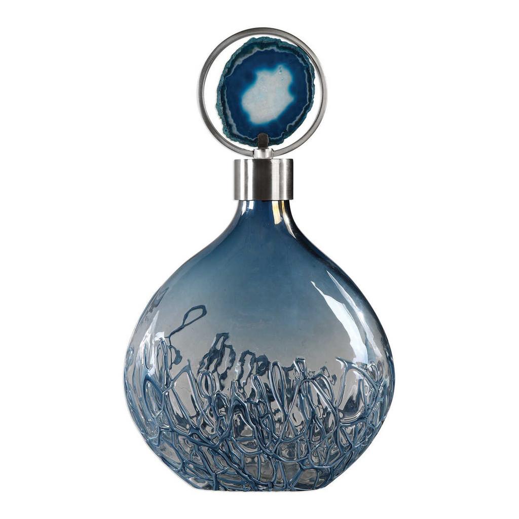 Grand Cay Agate Vase