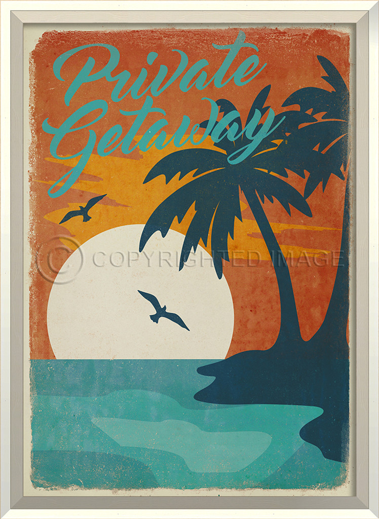 Private Getaway Framed Poster Art