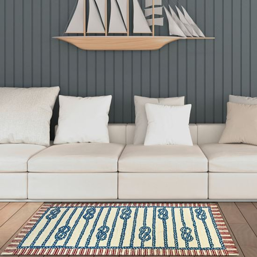 Sailor's Knot Indoor-Outdoor Area Rug room image